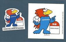 Magnet, FRANCE 98 - Toulouse, Coupe du Monde mascotte Footix+ Footix LA POSTE