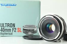 [Excellent+++in BOX] Voigtlander Ais ULTRON 40mm f/2 SL II S Nikon From Japan