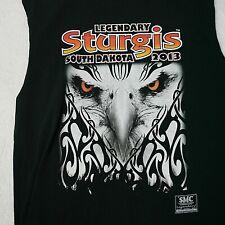 Sturgis Rally T Shirt Size 2013 73rd Annual Sleeveless Mens XXL Eagle