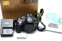 Nikon D D5300 24.2 MP SLR-Digitalkamera - Schwarz (Nur Gehäuse)