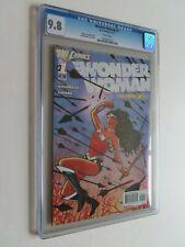 New 52 WONDER WOMAN #1 - CGC Grade 9.8 White Pages - DC Comics  1st Print 2011