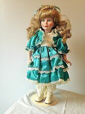 """Dynasty Porcelain Doll 15"""" My Name Is Rae"""