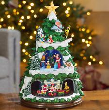 Disney Animated Christmas Tree Mickey Minnie Winnie the pooh Donald Duck Dumbo