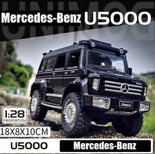 GLM 1/28 Scale Mercedes Benz Unimog U5000 SUV Model 2012 Diecast Car Toys Gifts