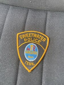 Vintage Sweetwater Police Department Tennessee Patch *