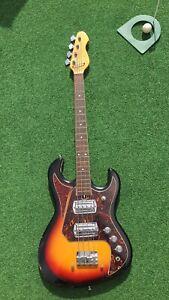 Bass Guitar & Fender Travel case