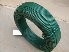 More details for pvc straining wire | green | 100m x 2.5mm | tensioning fence line wire