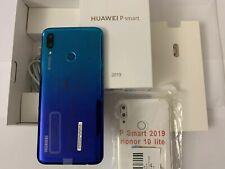huawei p smart 2019 Aurora Blue ROM 64GB RAM 32GB Più Cover