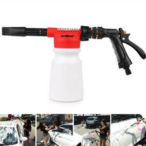 Car Snow Foam Washer Gun Wash Soap Lance Cannon Spray Pressure Jet Bottle 900ML