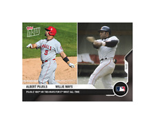 Albert Pujols / Willie Mays - MLB TOPPS NOW Card 262 - 660 HR ties for 5th most