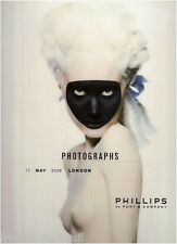 Auction catalog Phillips de Pury Photo Photographs 17 MAY 2008 NEW YORK