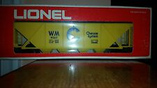 Vintage Lionel Chessie System Covered Quad Hopper Car #6-9265, 0/027-New