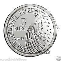 Pièce 5 euros BELGIQUE 2015 - Mons Capitale Européenne de la Culture - 15 000ex