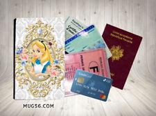 alice aux pays des merveilles disney 19 porte cartes grise permis passeport