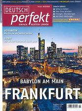 Deutsch perfekt - Heft November 11/2012: Frankfurt - Deutsch Lernen + wie neu +