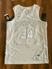 Nike NBA MVP AUTHENTIC Mil. Bucks Trikot | 34 - Giannis Antetokoumpo | Gr. M NEU