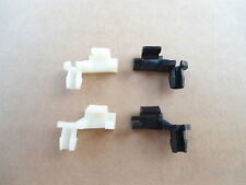 4 OLD SCHOOL DOOR LOCK ROD CLIP RETAINERS!AMC JEEP CJ5 CJ6 CJ3 WRANGLER 262-10ZX