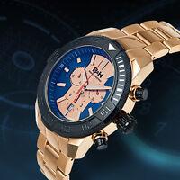 Brandt & Hoffman Butler Swiss Ronda Movement Chronograph  Mens Watch MSRP $1665