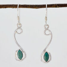 excellent Turquoise 925 Sterling Silver Multi Earring Natural indian US gift