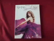 Taylor Swift - Speak now . Songbook Notenbuch Piano Vocal Guitar PVG