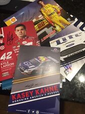Nascar Lot Of 20 Assorted Signed Autograph Driver Photos & Hero Cards See List