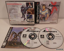 XENOGEARS (PlayStation 1) COMPLETE! PSX RPG Mecha! GIANT ROBOTS! Black Label PS1