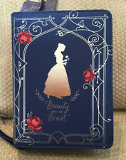 NWT DISNEY BEAUTY AND THE BEAST PURSE ROSES BOOK PRINT JACQUELINE DURRAN INSPIRE