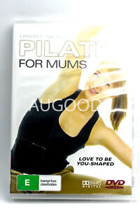 PILATES FOR MUMS -Educational DVD Series Rare Aus Stock New Region ALL