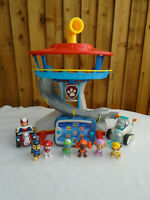 Paw Patrol Look Out Tower Playset Plus Vehicles & Pups Plus Pup Pad 🐾