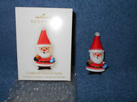 2008 HALLMARK KEEPSAKE CHRISTMAS ORNAMENT COOKIES & COCOA FOR SANTA W/ BOX NICE