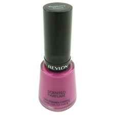 NEW REVLON SCENTED NAIL POLISH RASPBERRY SCONE LACQUER PINK