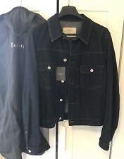 NWT Berluti x Haider Ackermann 40 50 M Denim Jacket With Leather Trim Details
