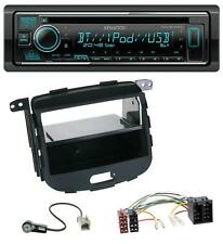 Kenwood Bluetooth CD USB AUX MP3 Autoradio für Hyundai i10 2008-2013 Rubber Touc