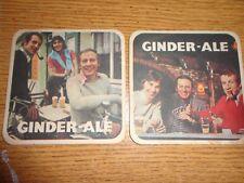 Beer drinks mats drip mats coaster GINDER ALE Merchtem Belgium rare vintage