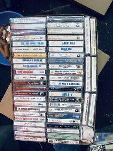 52 CT Cassette Lot 24 Bluegrass New Sealed Cassettes Lot 24