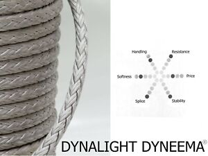 14mm Dynalight | Racing Rope Line | Cousin Trestec | Marine Rope by the Meter