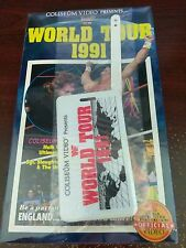 WWF World Tour 1991 Coliseum VHS Video SEALED UltimateWarrior Undertaker NEW WWE