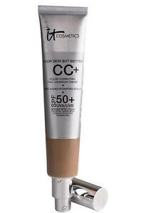 It Cosmetics CC+Illumination SPF 50+ TAN Supersized 2.53 fl. oz.