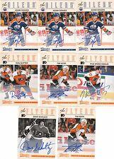 12/13 Panini Classics Signatures Auto Adam Graves #98 Oilers 2012/13