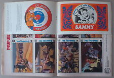 SPIROU n°1831  **  AUTOCOLLANTS SAMMY/GIL JOURDAN  ATTACHÉS   **  MAI 1973
