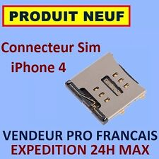 ✖ CONNECTEUR INTERNE LECTEUR INTERNE CARTE SIM IPHONE 4 ✖ NEUF EXPEDITION 24H ✖