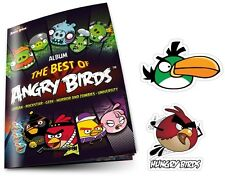 Angry Birds Sticker Album Collection - The Best Of Angry Bird Starter Pack
