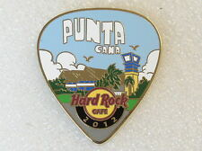 PUNTA CANA,Hard Rock Cafe Pin,POSTCARD 2012 Guitar Pick Series