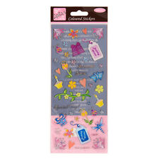 ANITAS PRETTY COLOURFUL HAPPY BIRTHDAY STICKERS FOR CARDS AND CRAFTS
