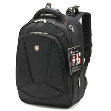 "Men's Women Classic Business Shoulder 15"" Laptop Backpack Waterproof Travel Bag"