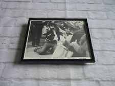 Framed Film cinema Movie collectable B/w photo Promo Lobby BUSTING CERT X GOULD