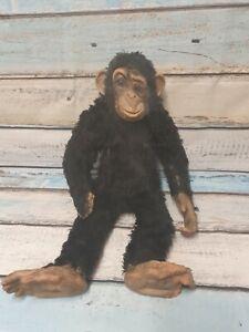 Dean's Gwentoy Deans Monkey Chimp Chimpanzee Soft Stuffed Toy  FOR RESTORATION