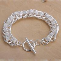 beautiful Fashion 925 silver wedding pretty women bracelet jewelry noble H59
