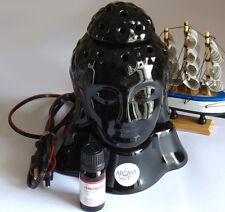 Aroma Lamp ELECTRIC DIFFUSER TALL BUDDHA OIL BURNER FRAGRANCE DIFFUSER+10ML Oil