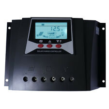 60A Solar Charge Controller 12V 24V 36V 48V Auto Max 100V PV Input PWM Regulator